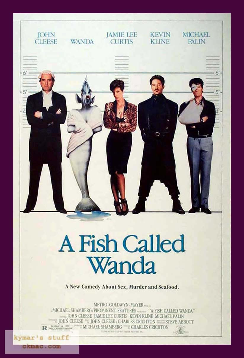 Snack to the future for Fish called wanda
